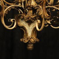 Florentine 12 Light Polychrome Antique Chandelier (7 of 10)