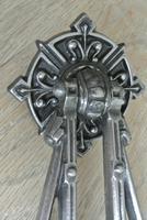 Genuine Victorian Archibald Kenrick Cast Iron Door Knocker No 402 c.1879 (5 of 5)