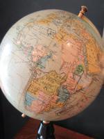 "1920's 8"" Papier Mache Terrestrial Globe (6 of 7)"