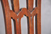 Pair Of 18th Century Mahogany Chippendale Side Chairs (7 of 11)