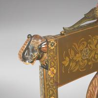 Early 20th Century Indian Hand-painted Chair (5 of 5)
