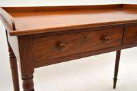 Antique Victorian  Mahogany Writing Table / Desk (3 of 10)