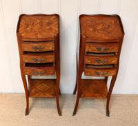 Pair of Tulipwood Bedside Cabinets (5 of 10)