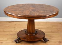 Victorian Mahogany Round Tilt Top Dining / Breakfast Table (6 of 7)