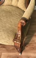 Quality Victorian Walnut Armchair (8 of 14)