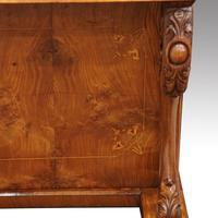 Victorian Antique Inlaid Walnut Davenport (4 of 13)