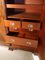 Fine Quality Early 20th Century Mahogany Breakfront Wardrobe (8 of 9)