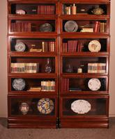 Pair of Globe Wernicke Mahogany Bookcases - 6 Elements (3 of 10)