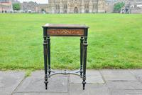 Superb French Inlaid Side Table/Work Table (2 of 18)