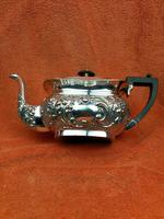 Antique Silver Plated Teapot JB Chatterley & Sons Ltd c.1920 (2 of 12)
