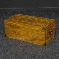 Mid 20th Century Camphor Wood Trunk (3 of 8)