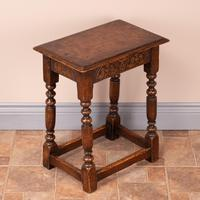 Carved Oak Joint Stool (9 of 15)