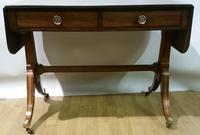 Regency Period Small Sofa Table c.1815 (5 of 9)