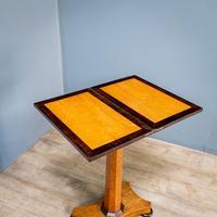 Bird's Eye Maple Folding Table (4 of 12)