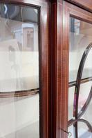Edwardian Mahogany Glazed Display Cabinet (4 of 7)