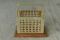 Fine William Tonks & Sons Brass and Oak Letter Rack c.1920 (2 of 5)