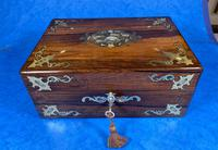 Victorian Jewellery Box with Mother of Pearl Inlay (8 of 13)