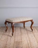 Fine Quality 19th Century Rosewood Stool