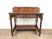 Antique Edwardian Mahogany Desk (4 of 12)