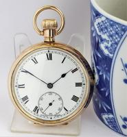 1920s Minerva Stem Winding Pocket Watch