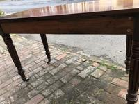 Antique Mahogany Side Table Desk (3 of 11)