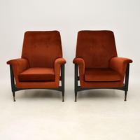 Pair of Italian Vintage Armchairs (2 of 10)