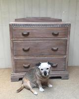 Limed Oak Chest of Drawers (9 of 9)