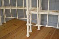 Matching Pair of Victorian Beds, 3ft Single Brass & Iron Bedsteads (11 of 12)
