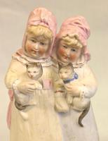 Antique Bisque Figure of Children (3 of 6)