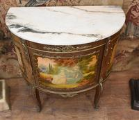 French Painted Commode Vernis Martin Antique Chest c.1920 (2 of 5)