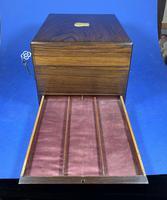 Victorian Rosewood Jewellery Box (11 of 17)