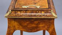 Victorian Burr Walnut Inlaid Jardiniere (7 of 16)