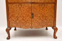 Antique Burr Walnut  Chest on Cabinet (5 of 12)