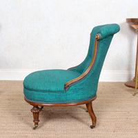 Tub Chair 19th Century Carved Mahogany (3 of 8)