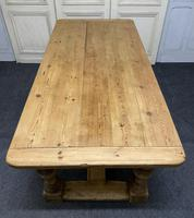 Pine Farmhouse Dining Table (4 of 17)
