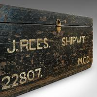 Antique Shipwright's Chest, English, Craftsman's Tool Trunk, Victorian, 1900 (12 of 12)