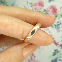 English Antique 9ct Rose Gold Wedding Band 1920's (5 of 10)