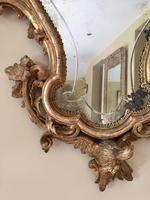 Fine English 18th Century Antique Gilt Mirror Pier Glass (8 of 10)