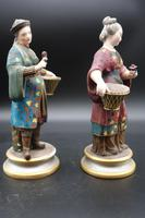 Charming Pair of Early 20th Century Meissen Figures in Oriental Garb (2 of 9)