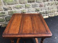 Antique Oak Barley Twist Extending Dining Table (4 of 9)