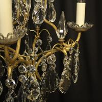 French Gilded Birdcage Antique Chandelier (6 of 8)