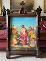 Pair of 19th Century Religious Old Master Oil Paintings - Set of 14 Available (3 of 32)