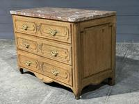 French 18th Century Marble Top Commode Chest (5 of 23)
