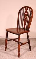 Set of 10 Windsor Wheelback Chairs 19th Century -  England (6 of 11)