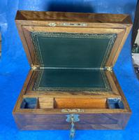 Victorian  Walnut Writing Slope with Secret Drawers (9 of 17)