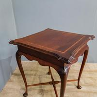 Edwardian Mahogany Occasional Table (6 of 7)