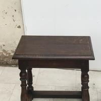 Pair of Oak Coffin Stools Circa Late 17th Century (8 of 24)