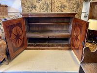 Large Burr Walnut Two Door Inlaid Cupboard (6 of 8)