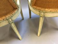 Pair of Empire French Painted Chairs (9 of 10)