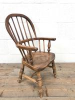 Antique Child's Windsor Chair (5 of 8)